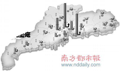 汕尾的gdp_去年广东省内,各个城市发展排名 赶紧来看看有没有你家乡